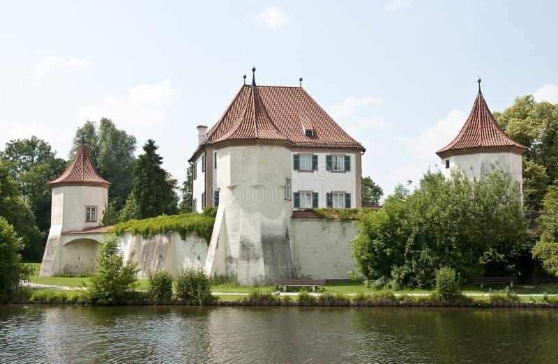 blutenburg城堡慕尼黑 库存照片