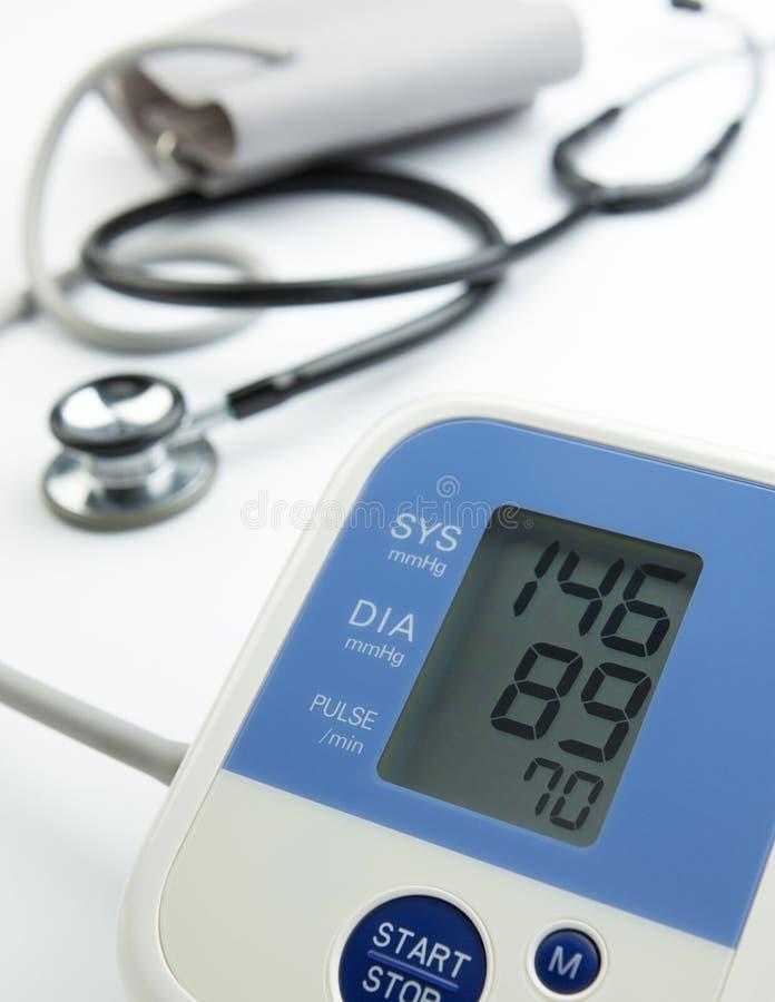 Bluthochdruck lizenzfreies stockbild