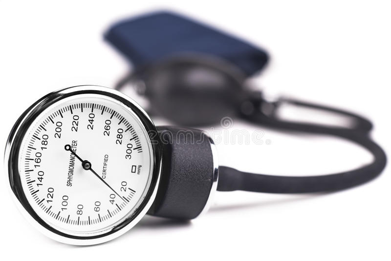 Bluthochdruck stockbild
