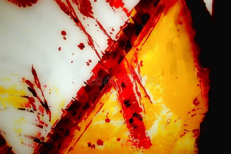 Blutiges Kreuz lizenzfreies stockfoto
