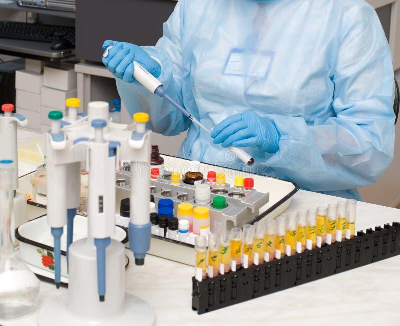 Blutprobe lizenzfreie stockfotografie