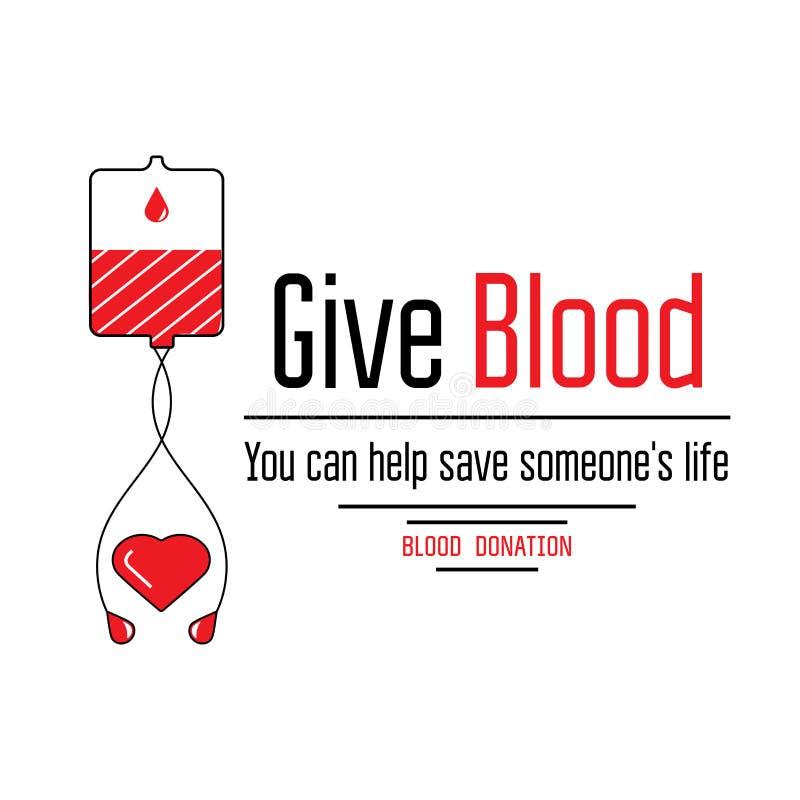 Blutspendenikonen stockbilder