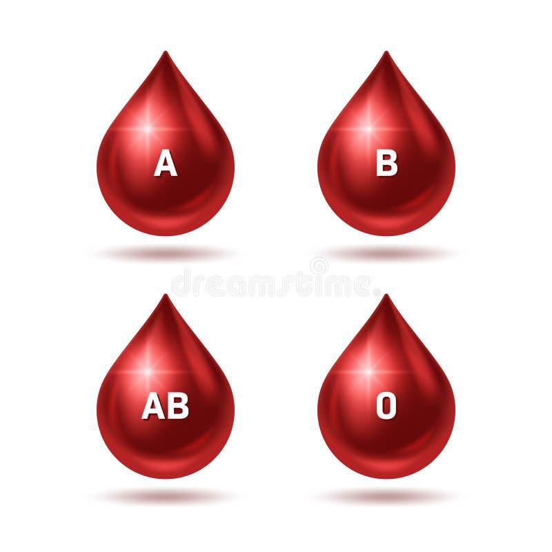 Blutspendtag stock abbildung