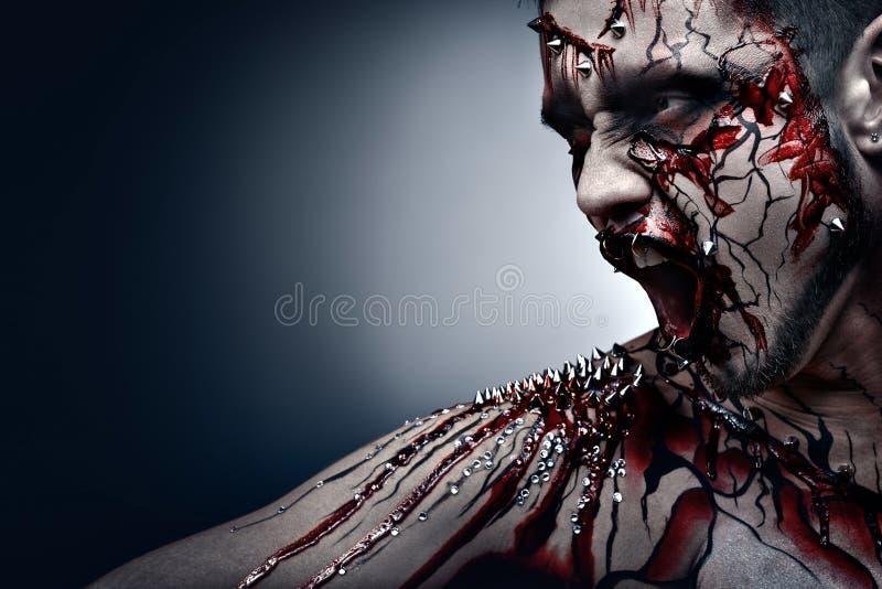 Blutungsnarben. lizenzfreies stockbild