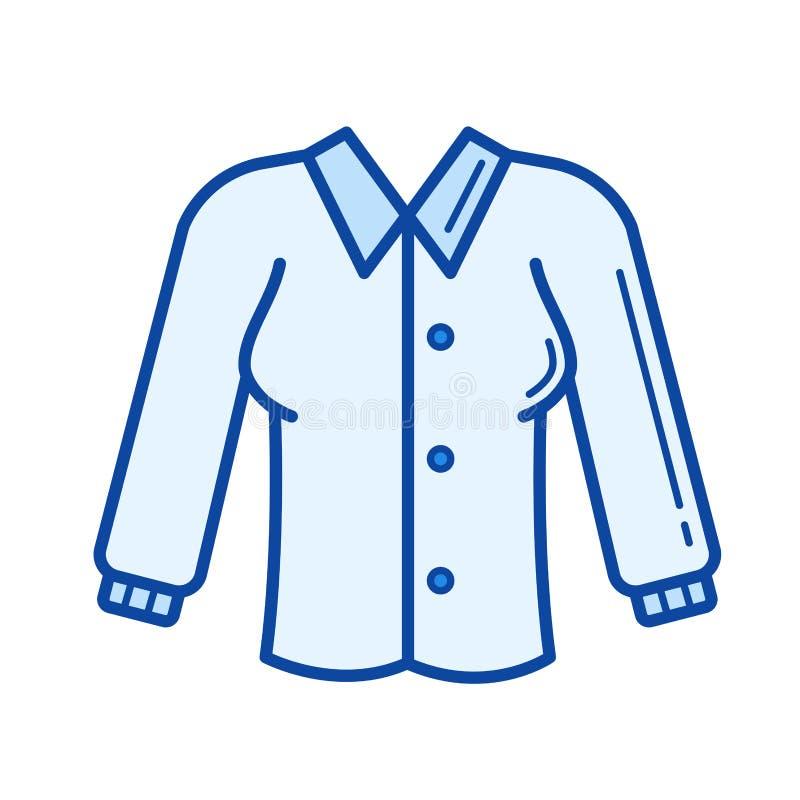 Bluzki kreskowa ikona royalty ilustracja