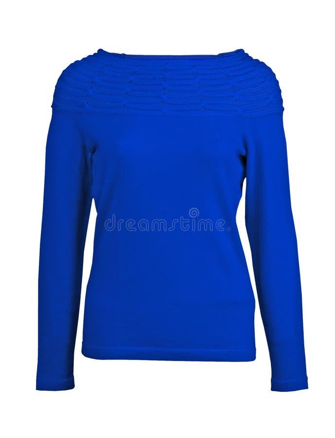 bluzki niebieskiej marynarki pulower fotografia royalty free