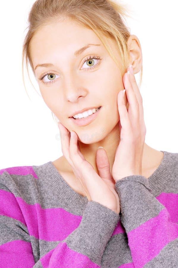 Download Bluzki Pasiaści Kobiety Potomstwa Obraz Stock - Obraz złożonej z migreny, human: 13334423