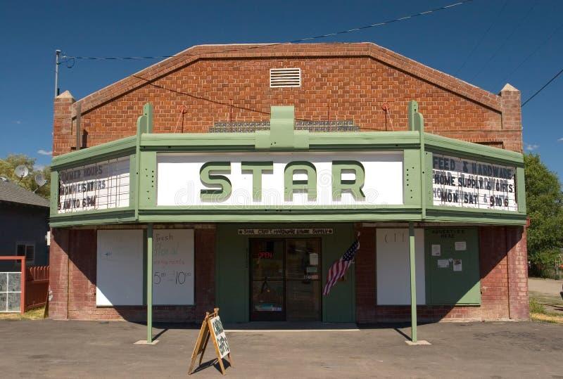 Download Bly stjärnateater arkivfoto. Bild av robert, torrt, gammalt - 242074