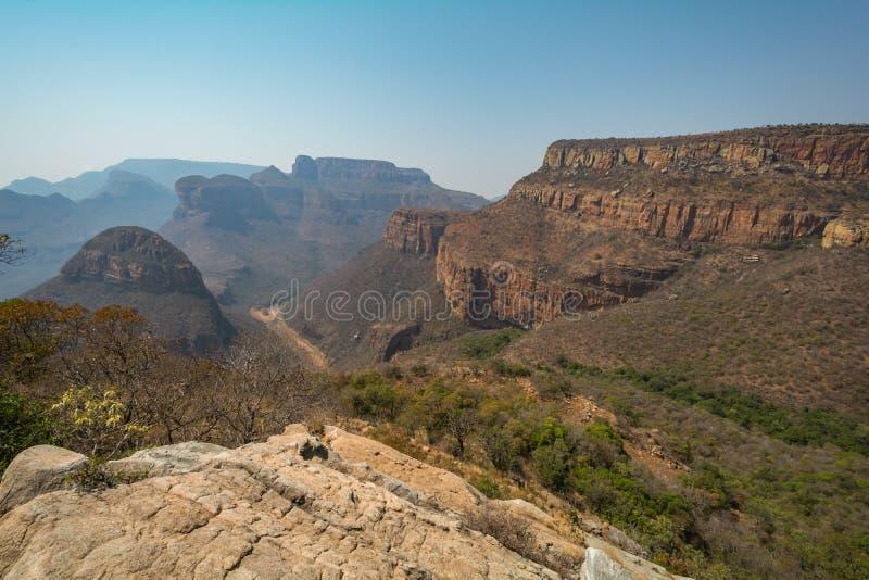 Blyde-Fluss-Schlucht, Mpumalanga, Südafrika lizenzfreies stockfoto