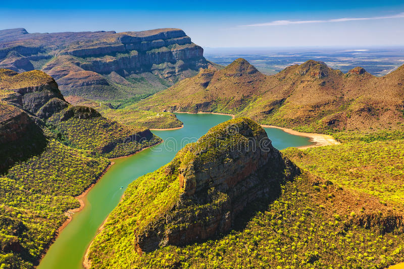 Blyde Fluss-Schlucht, Südafrika lizenzfreie stockfotografie