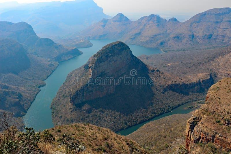 Blyde River Canyon bij Johannesburg Zuid-Afrika royalty-vrije stock foto