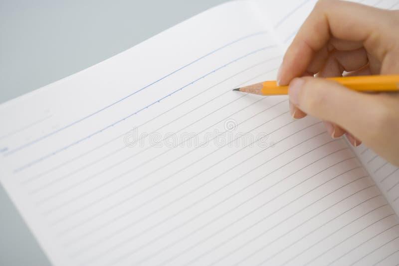 blyertspenna royaltyfri foto