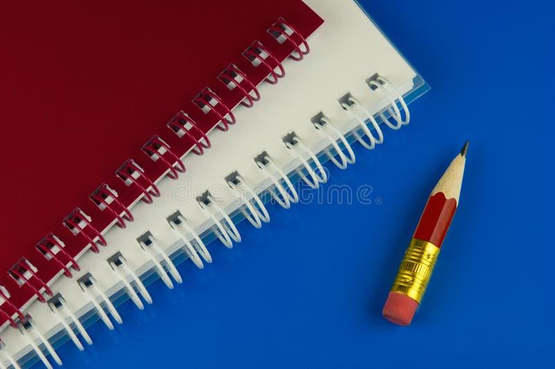 blyertspennakortslutning royaltyfria bilder