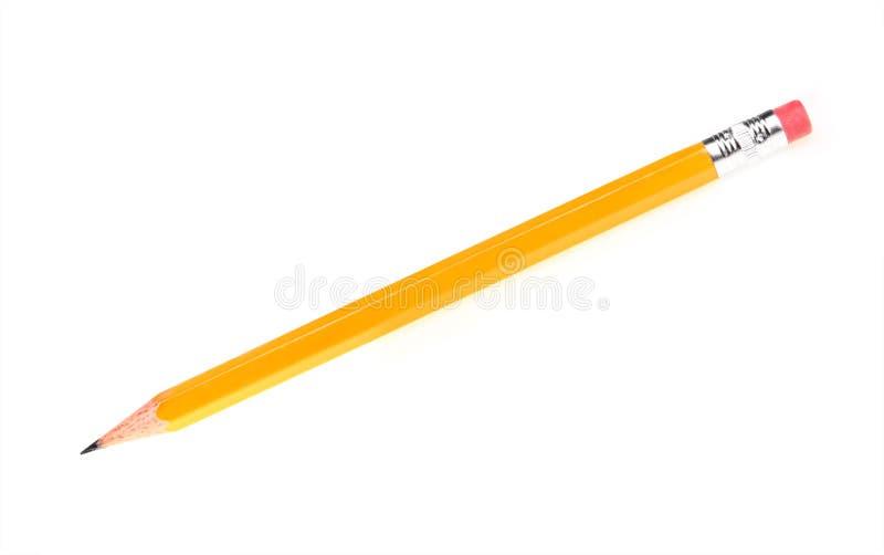 blyertspennasharp royaltyfria bilder
