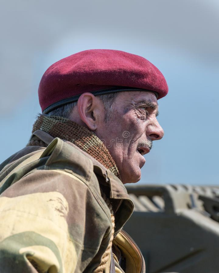 Blyth Battery. Annual World War Two reenactment. royalty free stock photos
