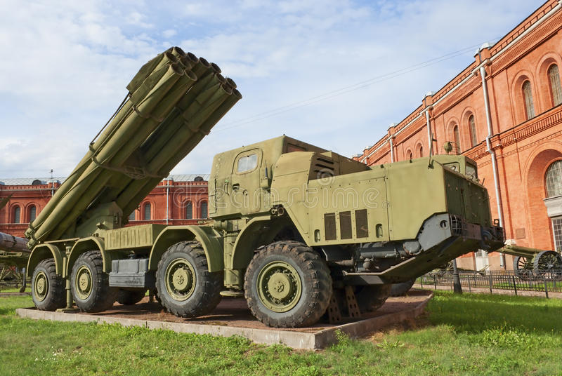 BM-30 Smerch fotografia de stock