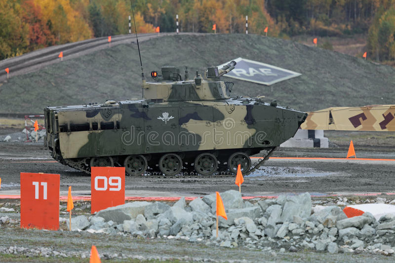 BMD-4M stock afbeelding