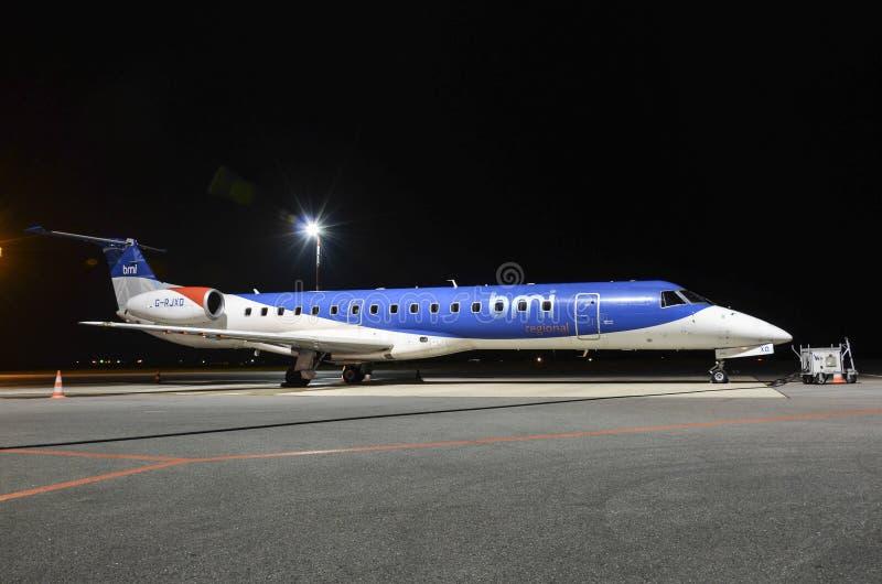 BMI地方喷气机 免版税库存图片