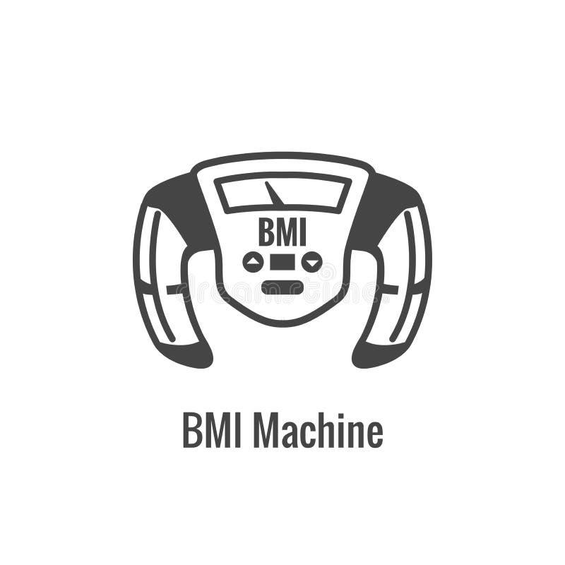 BMI / Body Mass Index Icon - image portraying weight balance vector illustration