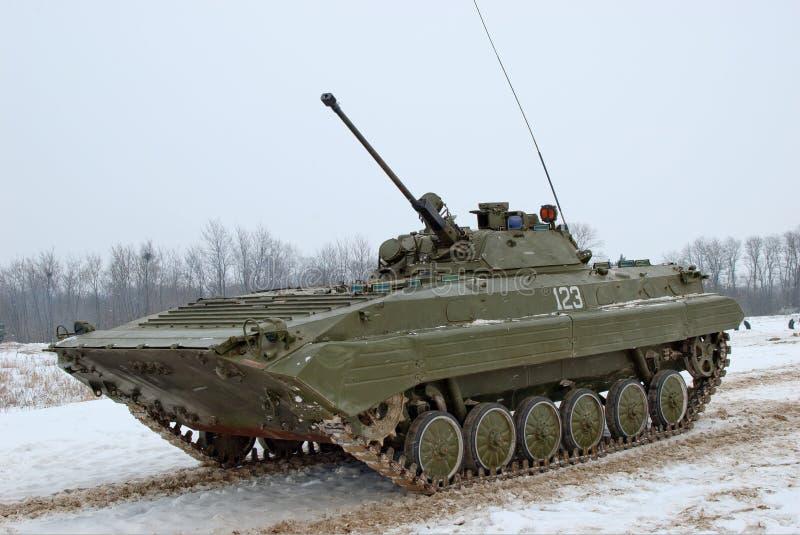 2 bmp piechoty walczący pojazd obraz royalty free