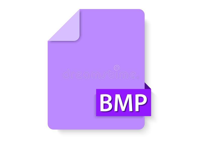 bmp wizerunków ikona ilustracja wektor