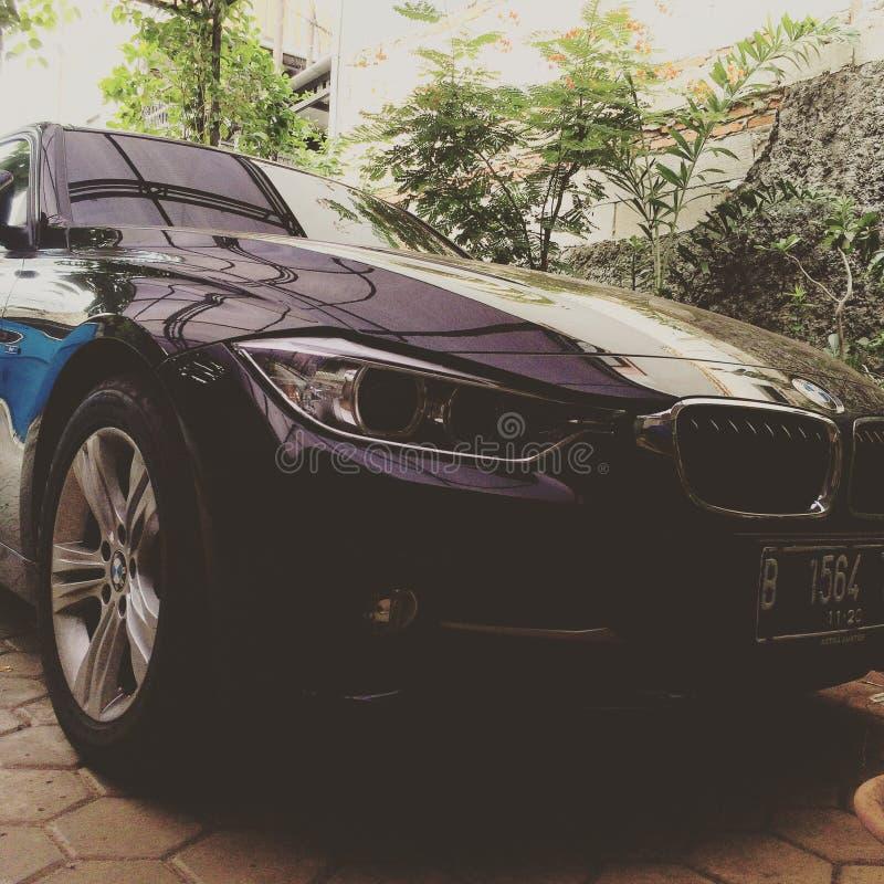 BMW前面 免版税库存照片