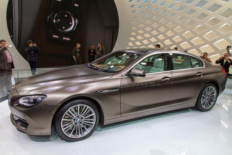 BMW大型高级轿车豪华汽车 免版税库存照片