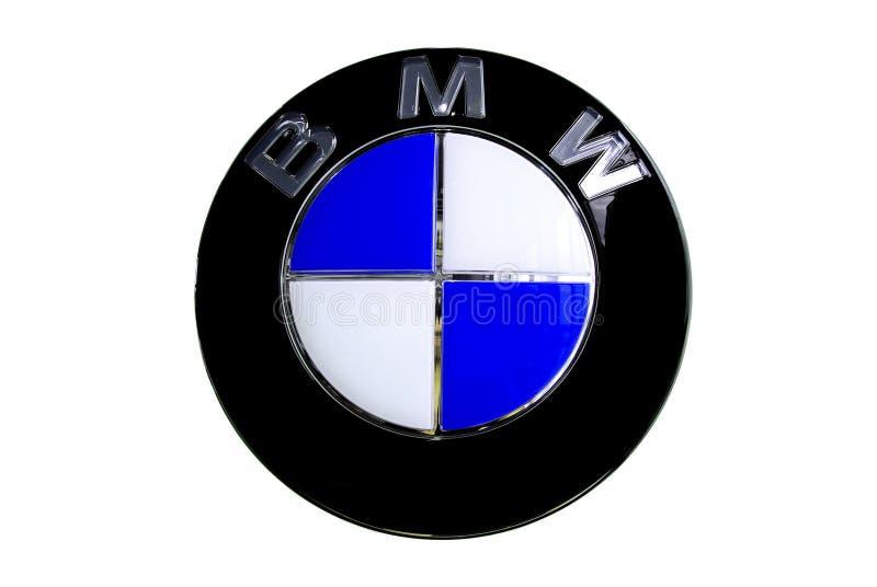 bmw徽标 免版税库存照片