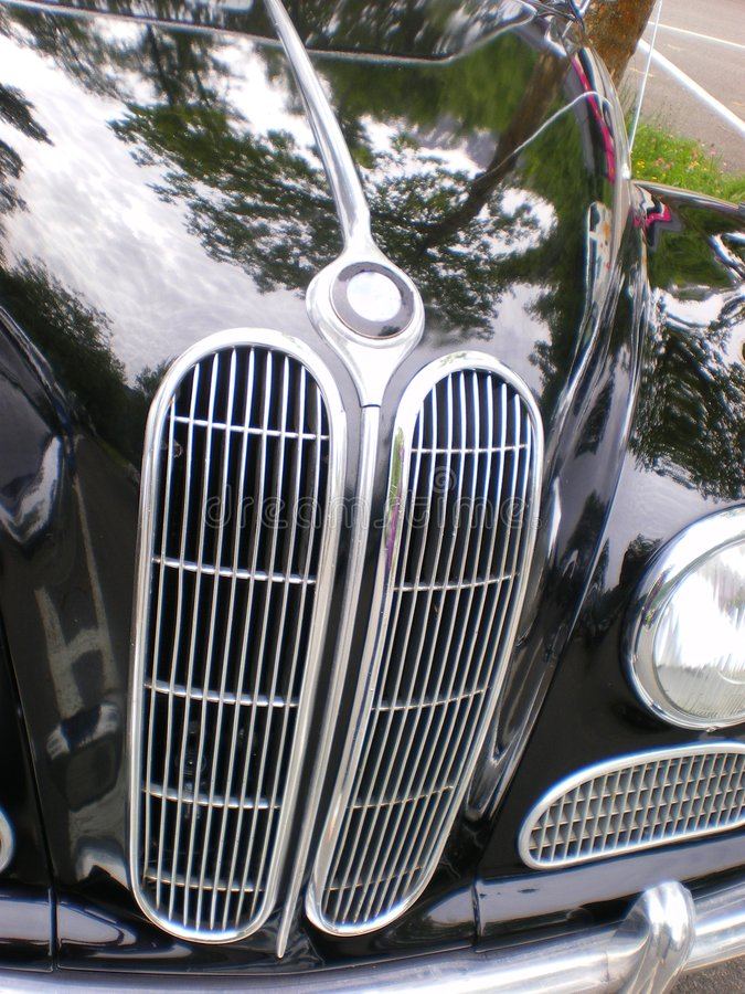 bmw汽车经典之作五十年代 免版税库存图片