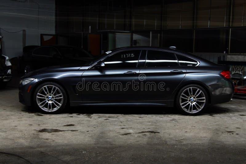 BMW 4 σειρές στοκ εικόνα με δικαίωμα ελεύθερης χρήσης