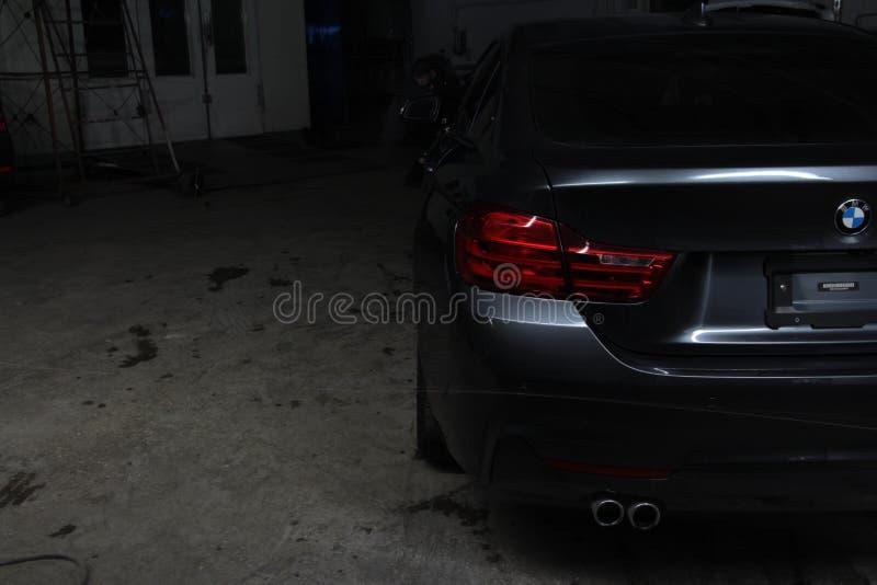BMW 4 σειρές στοκ φωτογραφίες