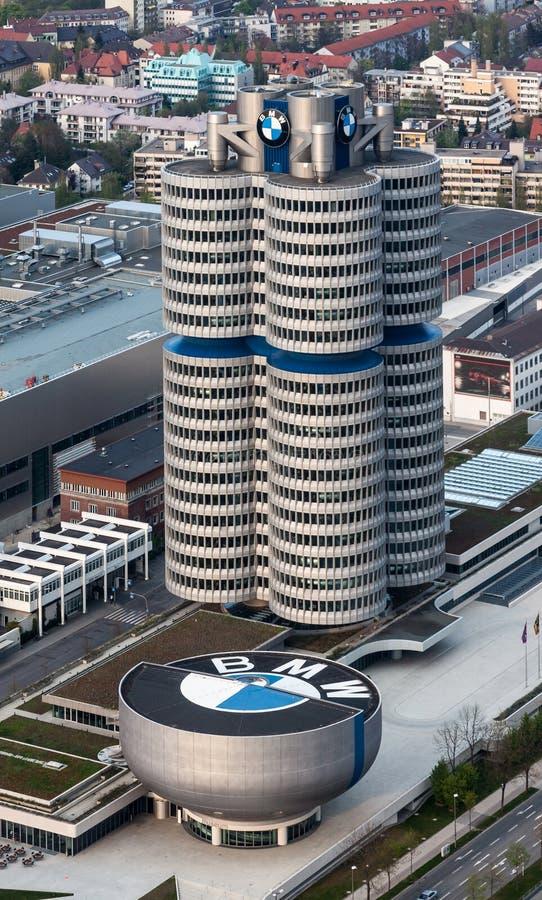 BMW размещает штаб Мюнхен стоковое фото rf