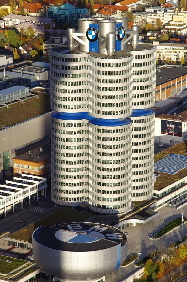 BMW размещает штаб Мюнхен стоковое изображение rf