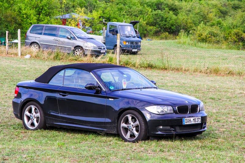 BMW 1系列E88 免版税库存照片