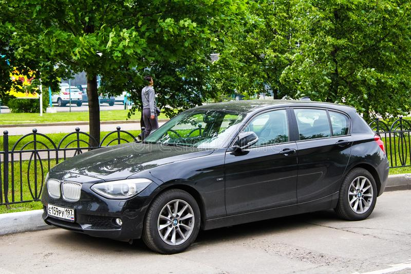 BMW 1系列 免版税库存图片