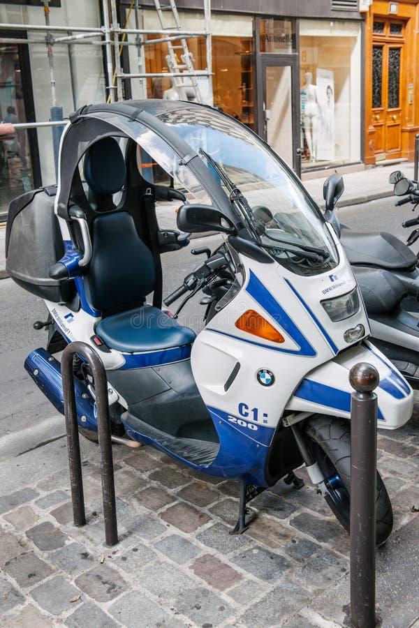 BMW滑行车C1 200惯例1 免版税库存图片