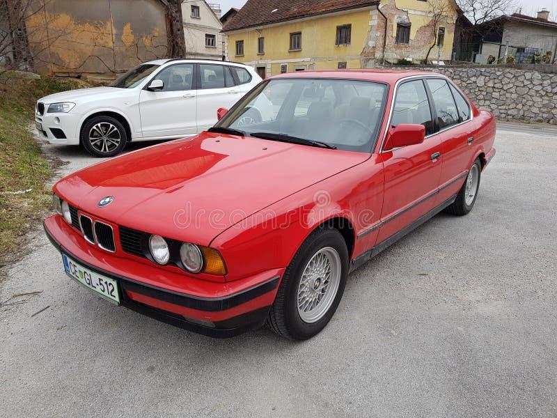 BMW 5 zdjęcia stock
