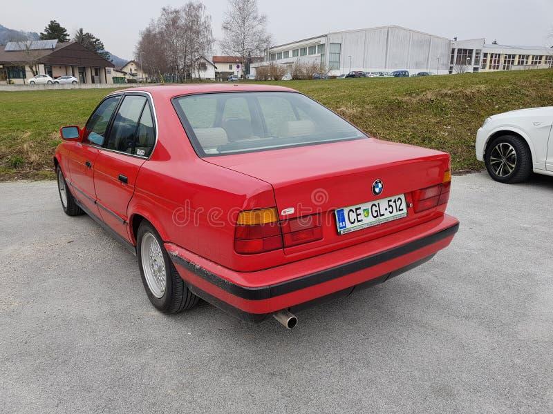 BMW 5 obrazy royalty free