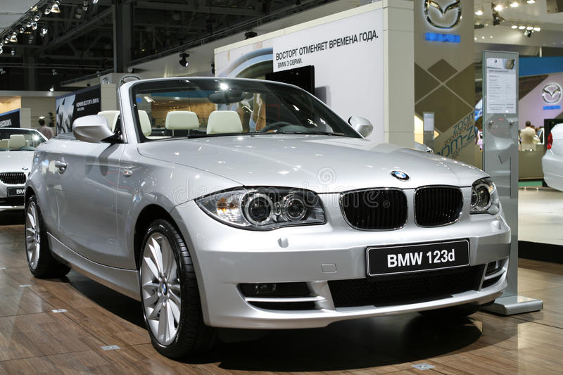 Download BMW 123d Cabrio editorial photo. Image of background - 15877691