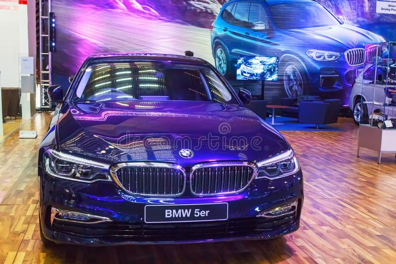 BMW 530 zdjęcie royalty free