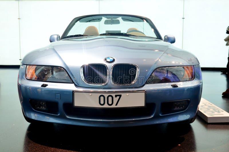 BMW 1995 Z3. 1995 model BMW Z3, Munich BMW Museum, Germany royalty free stock photography