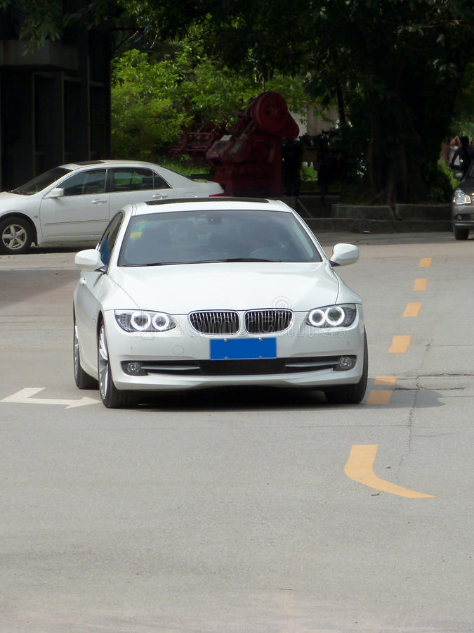bmw 3 series royalty free stock photography