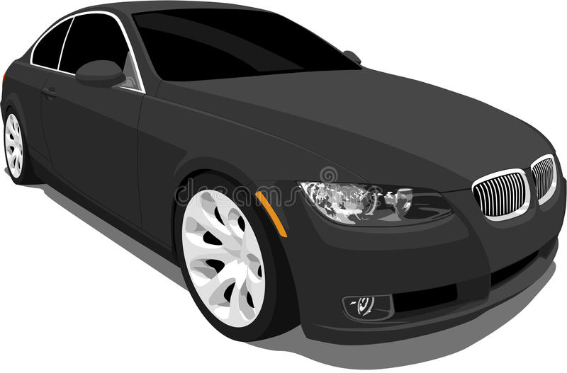 Download BMW 3 Series Sports Coupe stock vector. Illustration of vector - 11129060