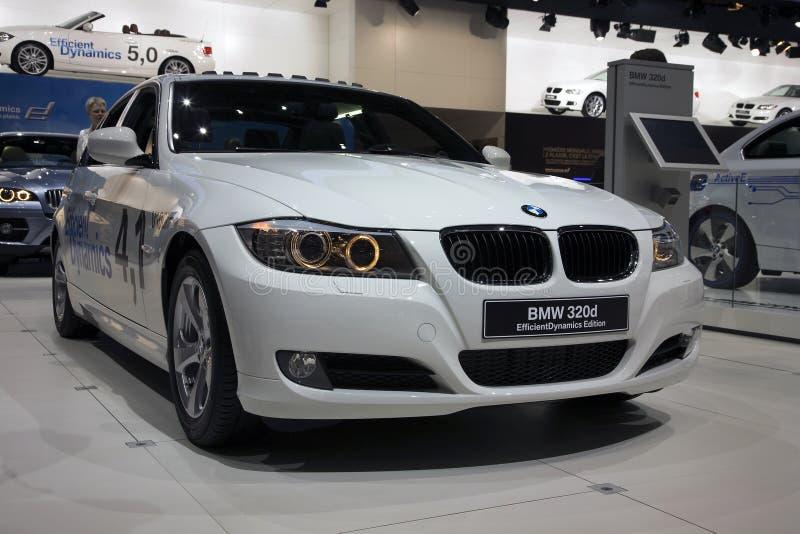 BMW 320d imágenes de archivo libres de regalías