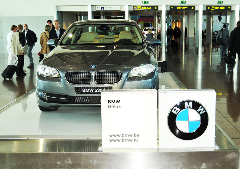 BMW 530d photo libre de droits