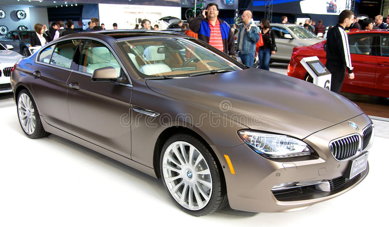 BMW 6 Series Gran Coupe stock photo
