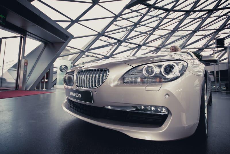 BMW 650i zdjęcia stock