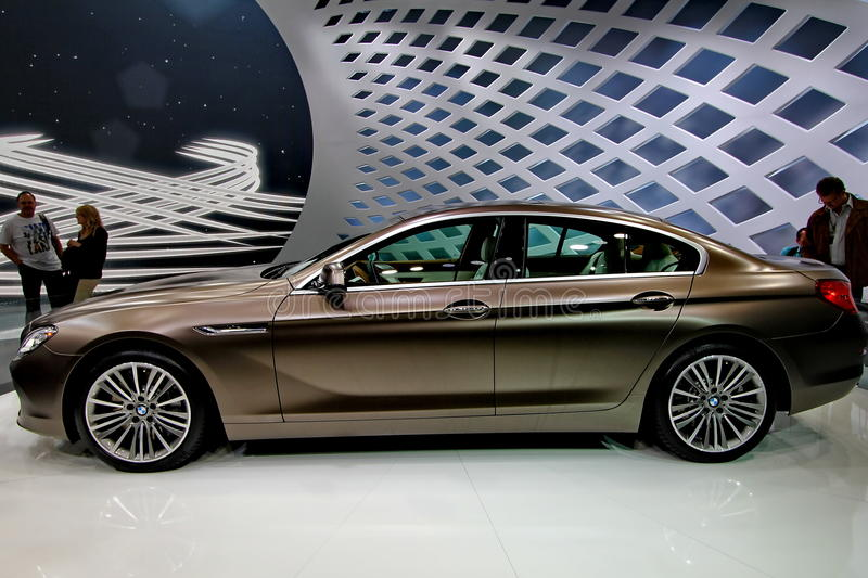 Download A bmw 6er gran coupe car editorial image. Image of coupe - 23988965