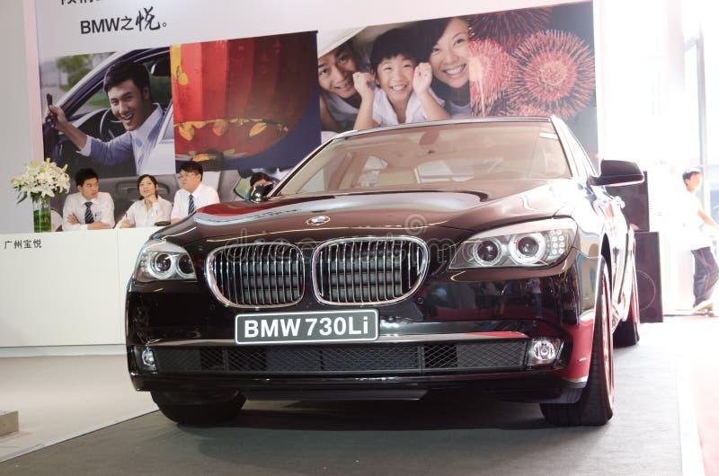 BMW 730 Li car stock photo