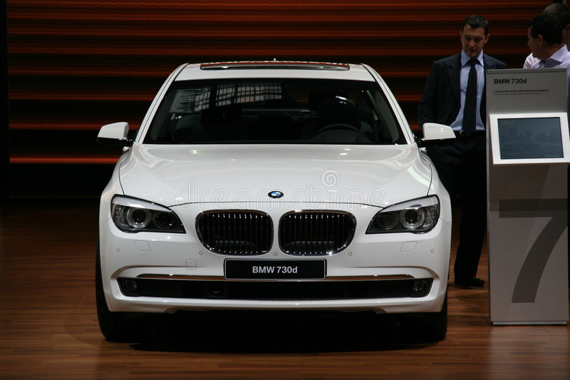 Download BMW 730d editorial photography. Image of automobile, business - 6677687